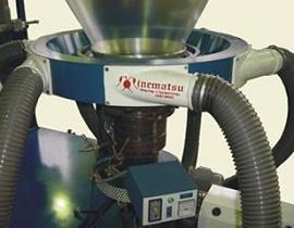 Adaptação de troca de tela hidráulico em extrusora de recuperação 1 - Minematsu