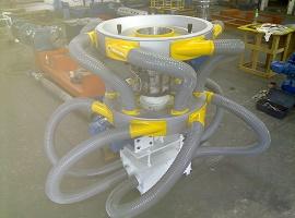 Cabeçote giratório para extrusora - Minematsu