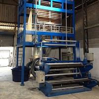 Extrusora para indústria plástica