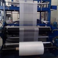 Máquina extrusora de filme plástico