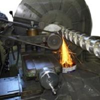 Recondicionamento de cilindros de extrusora